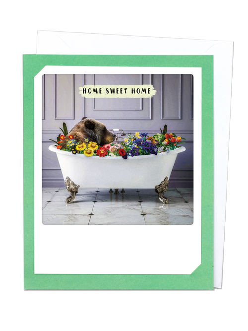 Pickmotion Photo-Card - Home Sweet Home Bear