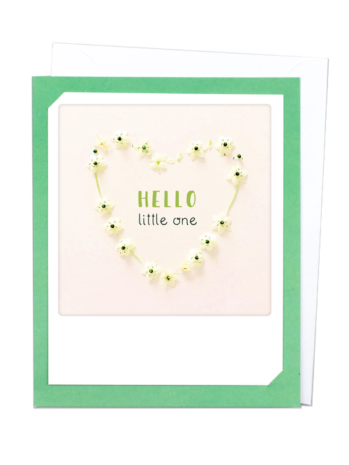 Pickmotion Photo-Card - Hello little One