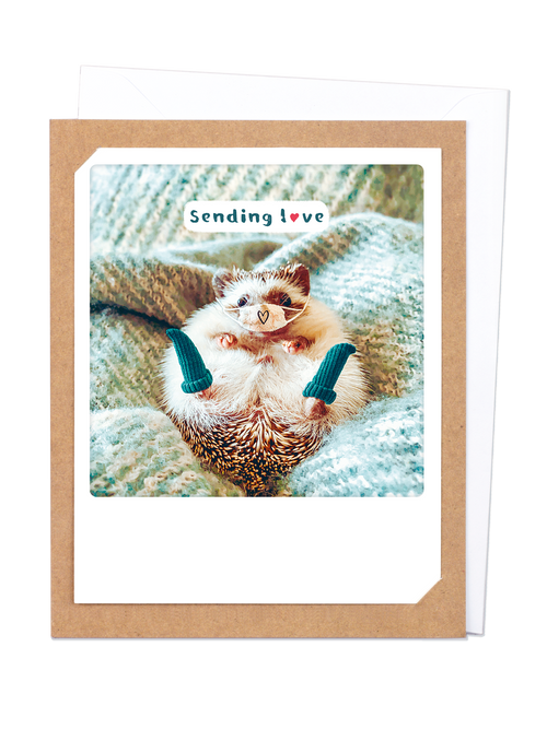 Pickmotion Photo-Card - Sending Love