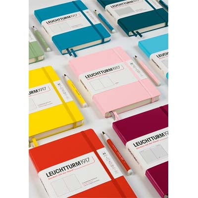Leuchtturm1917 - A5 Notebook - Hardcover Ruled Lined