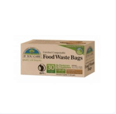 If You Care - 1L Compostable Food Waste Bag (30 Pk)