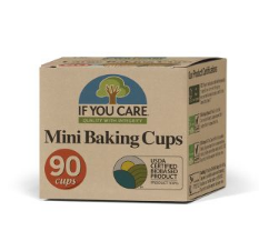 If you care - Mini Baking Cups - unbleached