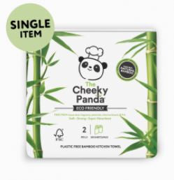 Cheeky Panda 2 Rolls Of Bamboo Kitchen Roll