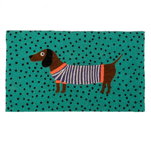 Bombay Duck Door Mat - Sausage Dog