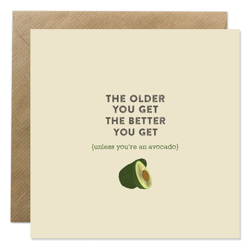 Bold Bunny - Older You Get Avocado
