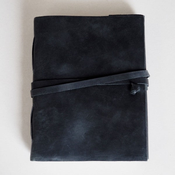 Paper High Journal - Buffalo Leather Black
