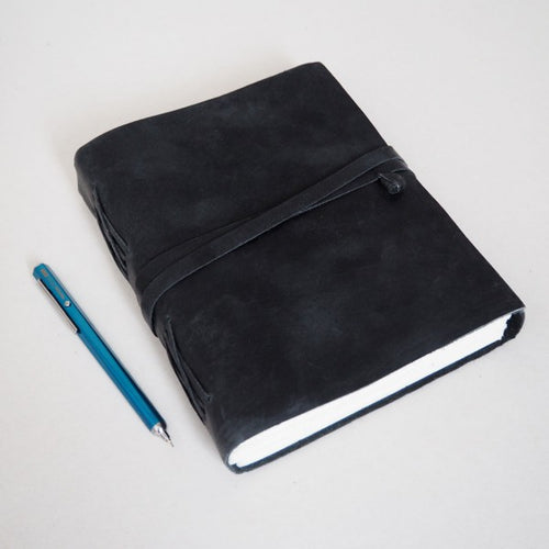 Paper High - Journal - Buffalo Leather Black