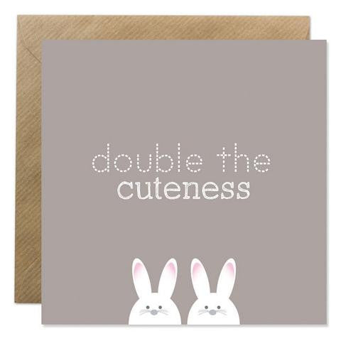 Bold Bunny - Double The Cuteness