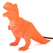Disaster Designs - Origami Dinosaur Light - Orange