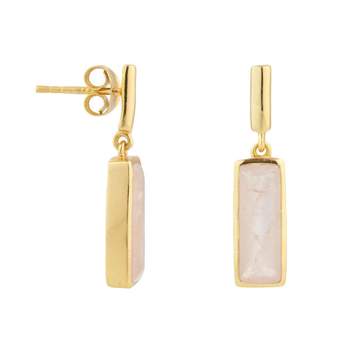 Juvi - Manhattan Drop Earring - Gold - Various Colours