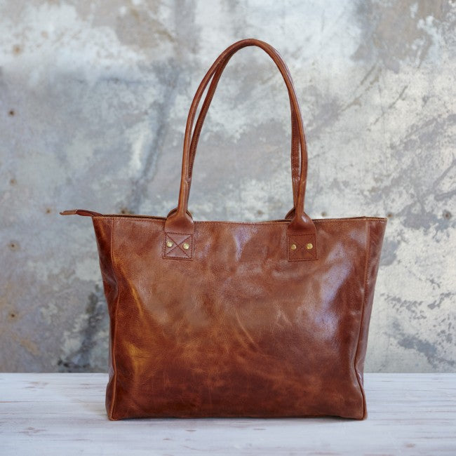 Paper High Haarth Leather Bag
