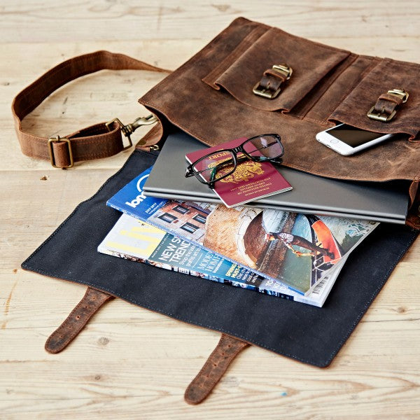 Paper High - Buffalo Leather Briefcase
