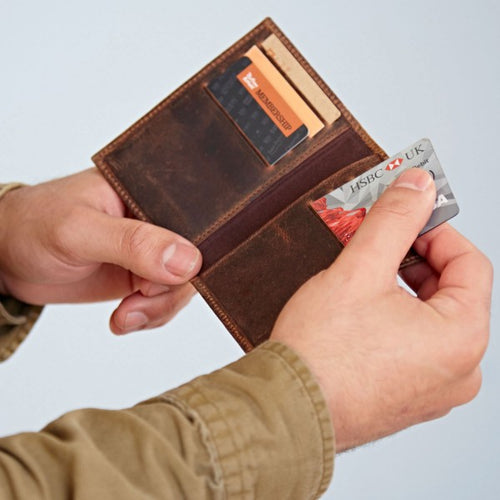 Paper High - Buffalo Leather Credit Card Holder