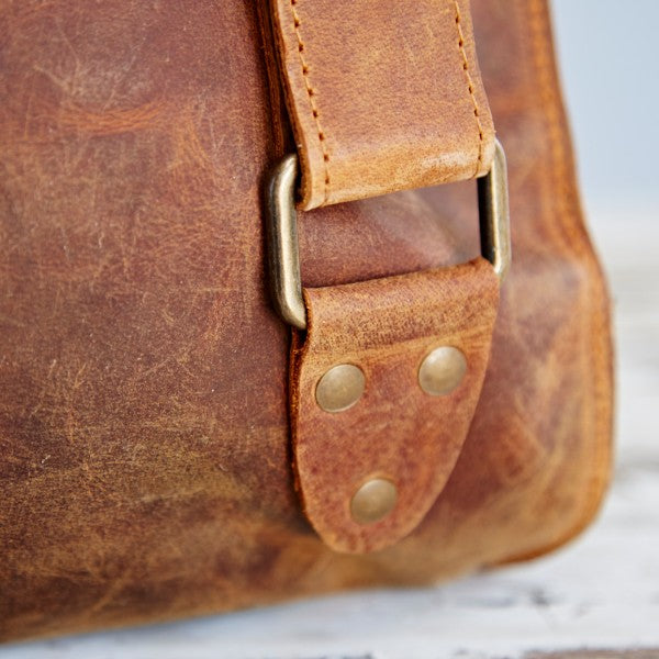 Paper High - Buffalo Leather Backpack
