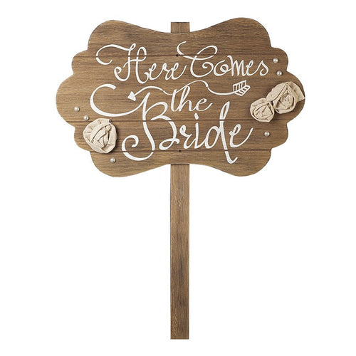 Heaven Sends - Here Comes the Bride Sign