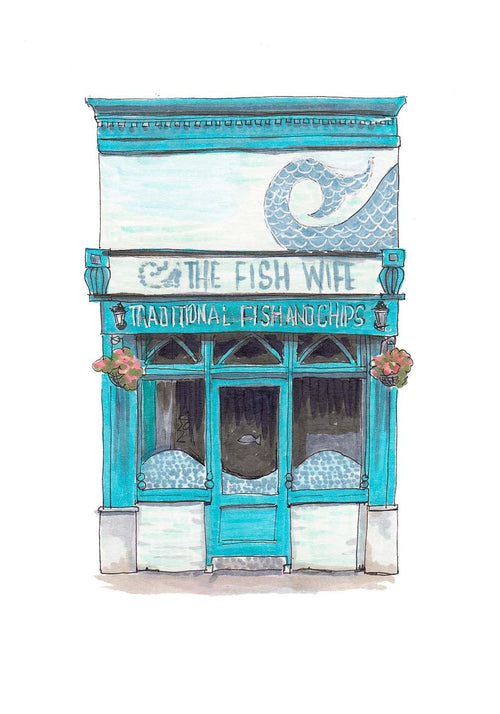 CorkIDoodleDo - The Fish Wife, Victorian Quarter, Cork