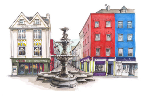 CorkIDoodleDo - Berwick Fountain, Grand Parade, Cork