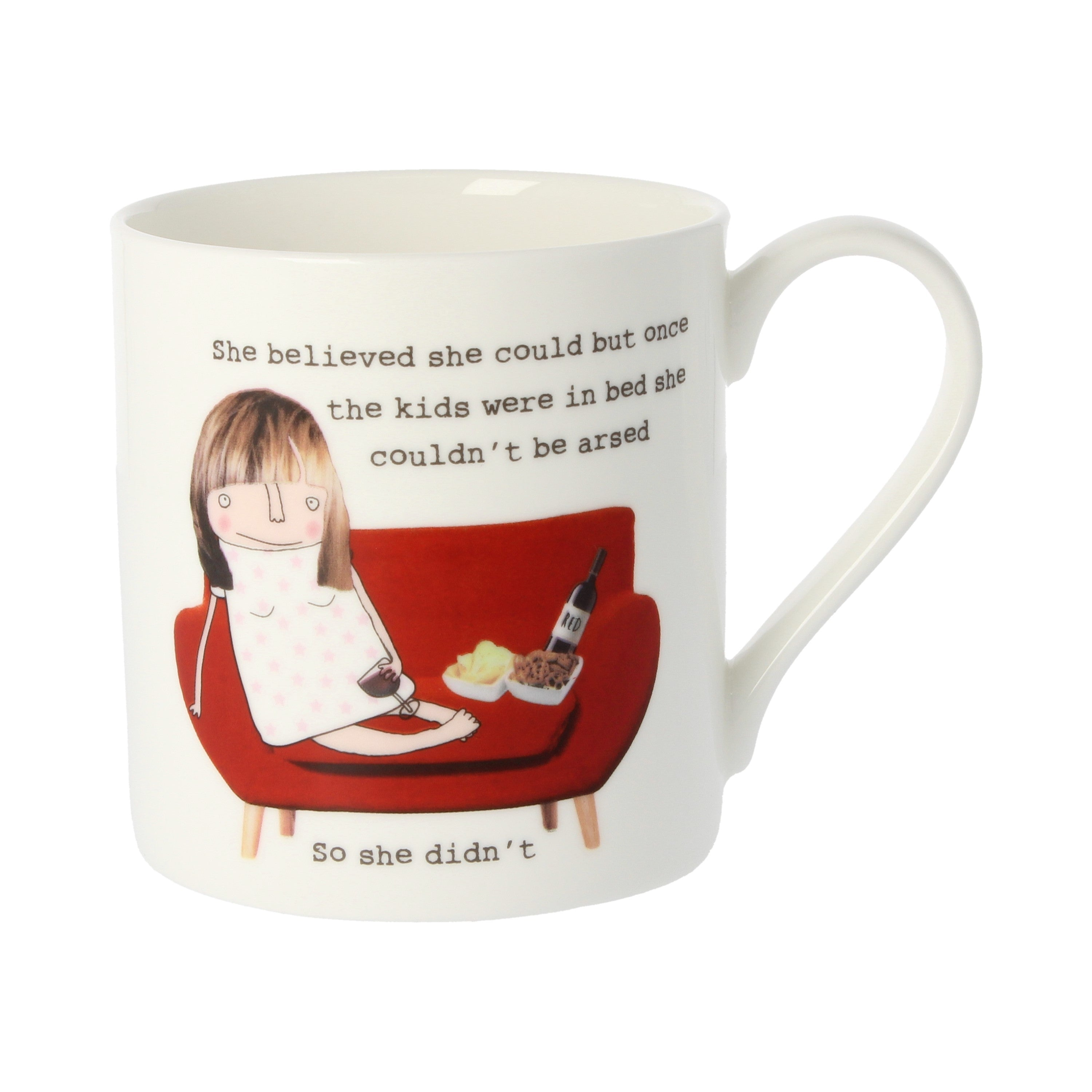 Rosie Made a Thing Mug - Kids In Bed