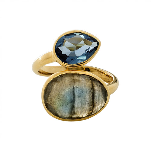 Juvi - Antibes Ring - Gold Vermeil or Silver