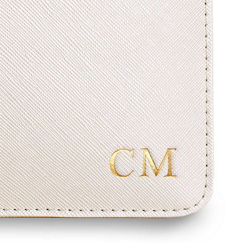 Monogram on Pouches