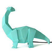 Disaster Designs  - Origami Dinosaur Light - Green