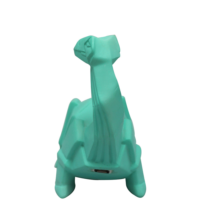 Disaster Designs Light - Dinosaur - Origami Green