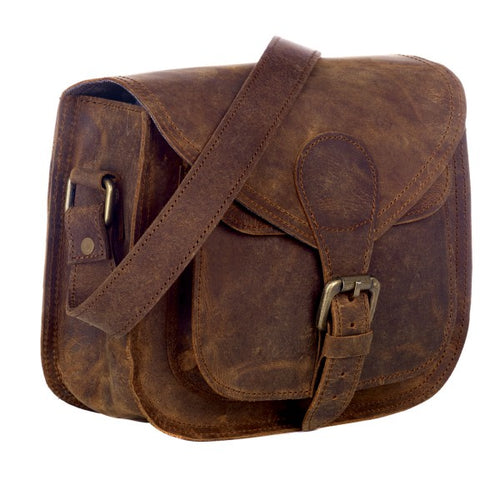 Paper High - Buffalo Leather Saddle Bag