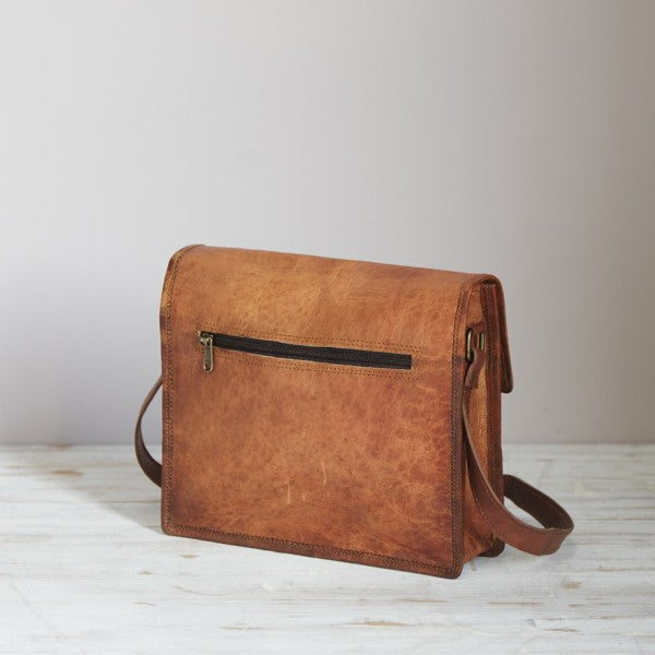 Paper High - Leather Medium Satchel