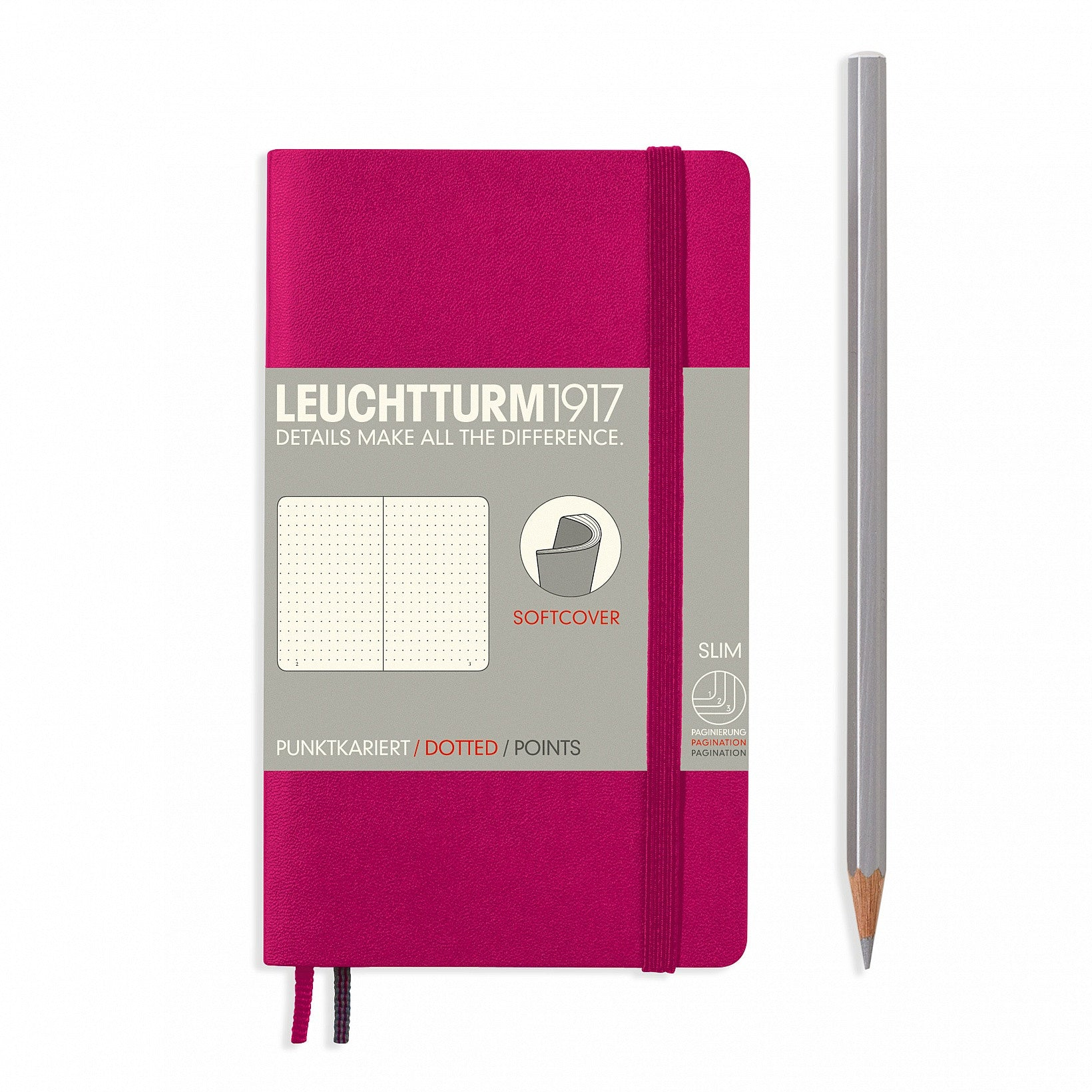 Leuchtturm1917 - A6 Pocket Softcover Notebook - Dotted