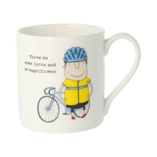 Rosie Made a Thing Mug - Lycra - Be Magnificent