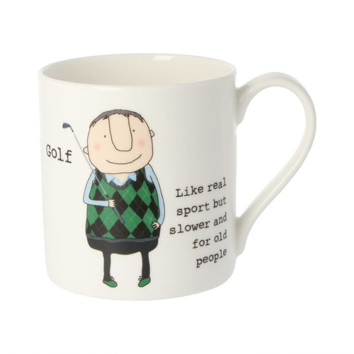 Rosie Made a Thing Mug - Golf