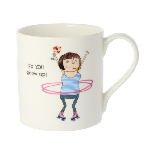 Rosie Made a Thing Mug - Grow Up