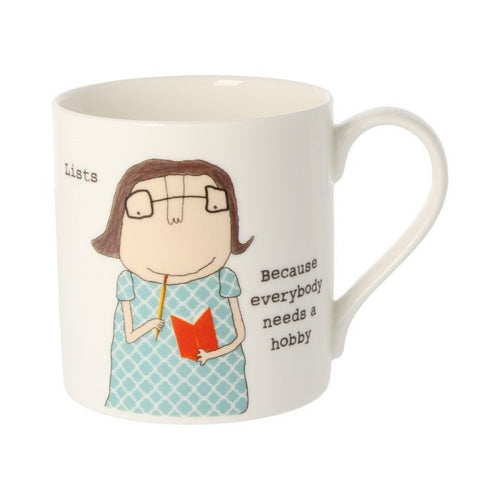 Rosie Made a Thing Mug - Lists