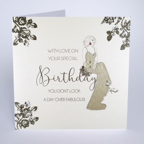 Luxury Extra Large Card - With Love on your Special Birthday