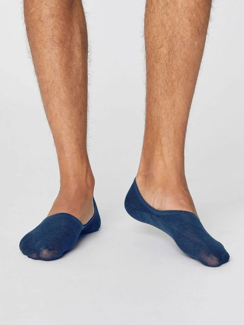 Thought Bamboo Mens Socks - No Show Socks (6 Colours)