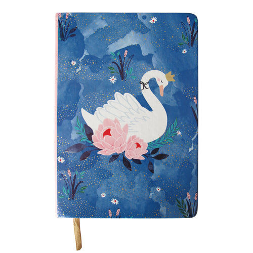 Disaster Designs Secret Garden Notebook Swan