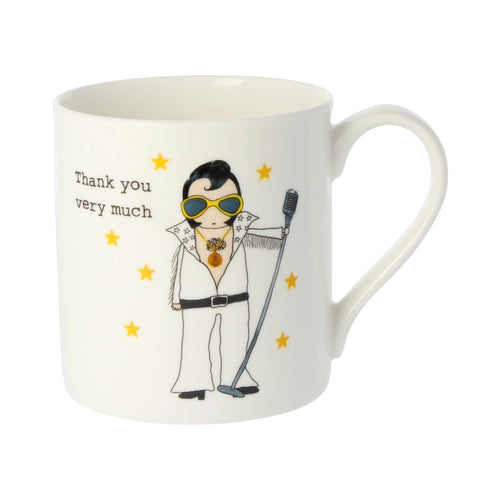 Rosie Made a Thing Mug - Elvis