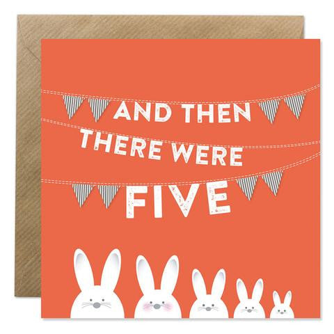 Bold Bunny - And then there were Five