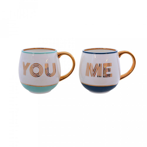 Bombay Duck Mug Library Set - You & Me