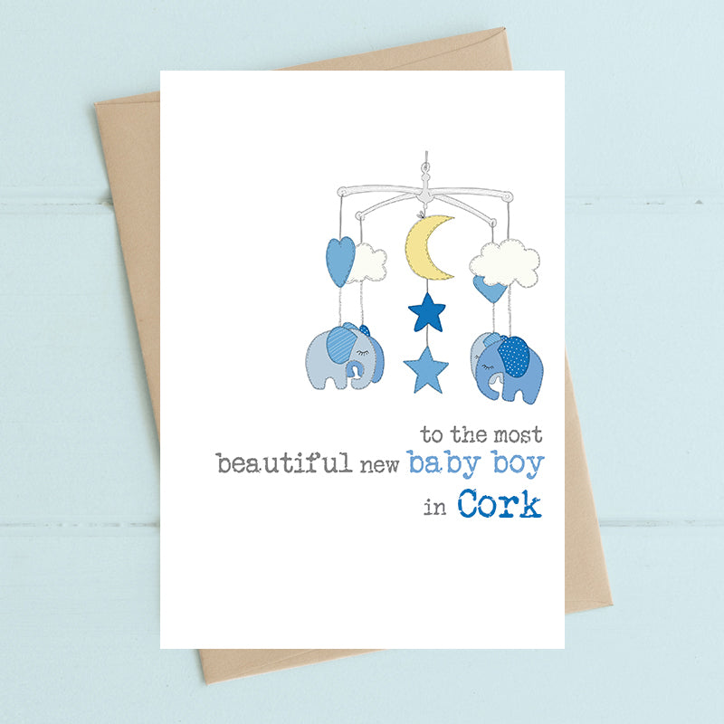 Dandelion Card - Beautiful Cork Baby