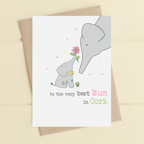 Dandelion Card - Best Mum in Cork
