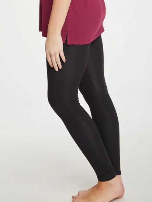 Thought Clothing - BAMBOO BASE LAYER LEGGING BLACK
