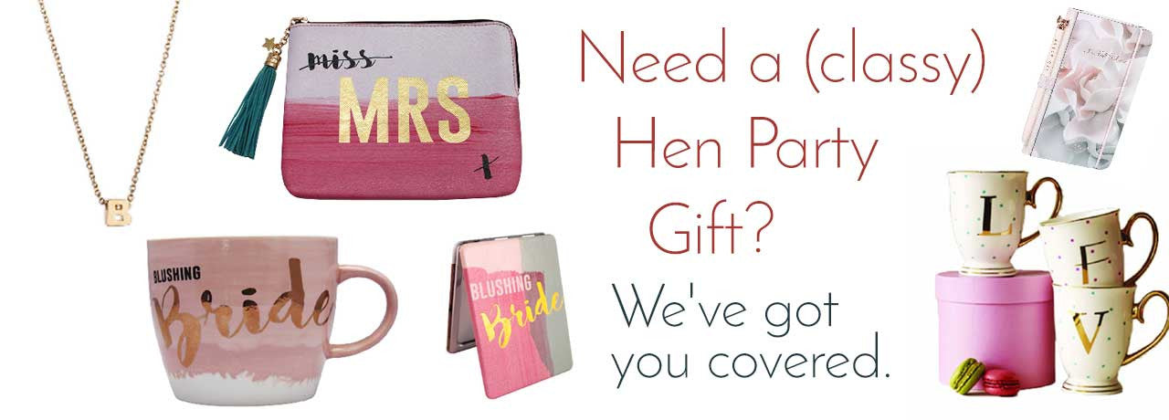 Hen Party Gifts Bridal Gifts Bride & Groom Gifts Cork City Killarney Ireland