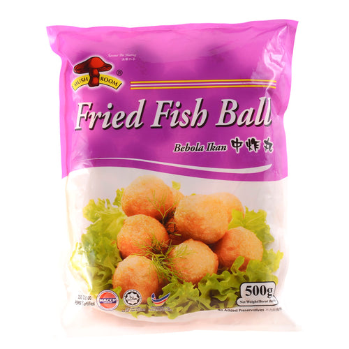 Mushroom's Medium Frozen Fried Fish Ball