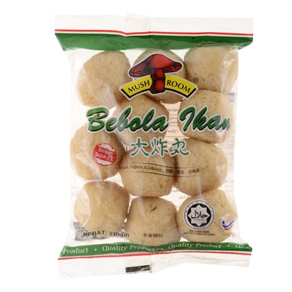 Mushroom's Big Chilled Fried Fish Ball 230g