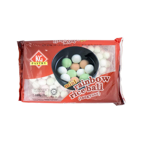 KG Pastry Mini Rainbow Rice Ball