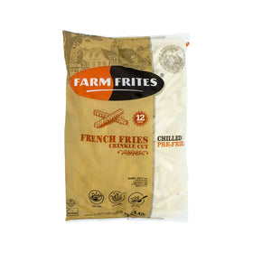 Farm Frites Crinkle Cut French Fries 2kg