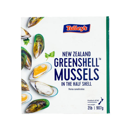 Talley's Greenshell Mussel (Half Shell)