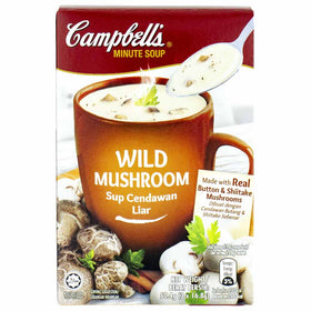 Campbell's Wild Mushroom Minute Soup