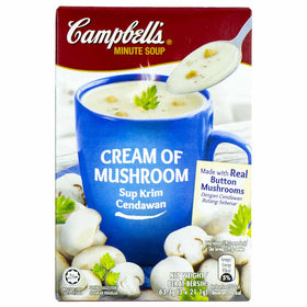 Campbell's Cream of Mushroom Minute Soup